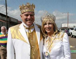 Krewe of Janus King and Queen