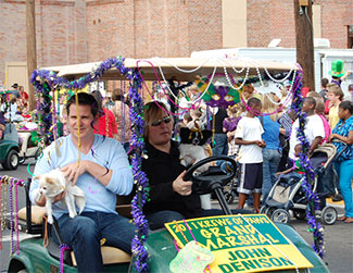 Pet Parade Honored Guests
